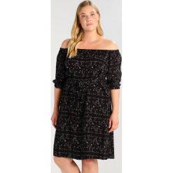 Sukienki hiszpanki: City Chic Sukienka letnia black