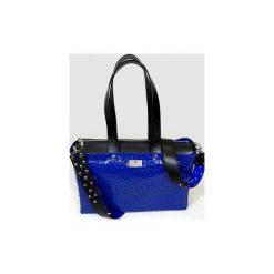 Torebki klasyczne damskie: Office – duża kobaltowa torba