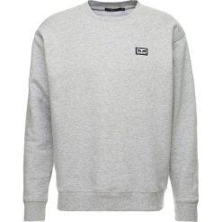 Bejsbolówki męskie: Obey Clothing ALL EYEZ CREW Bluza heather grey