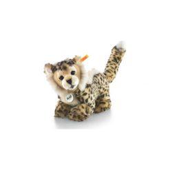 Przytulanki i maskotki: STEIFF Cheetah Baby Maskotka Gepard 26cm beige/brąz