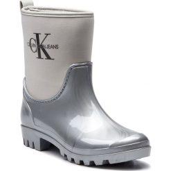 Kalosze CALVIN KLEIN JEANS - Philippa RE9811 Silver. Szare buty zimowe damskie Calvin Klein Jeans, z jeansu. Za 509,00 zł.