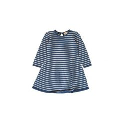 Name it  Girls Sukienka Siw dress blue - niebieski - Gr.Moda (6 - 24 miesięcy ). Niebieskie sukienki niemowlęce marki Name it, z bawełny. Za 99,00 zł.