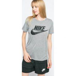 Nike Sportswear - Top. Różowe topy sportowe damskie marki Nike Sportswear, l, z nylonu, z okrągłym kołnierzem. Za 139,90 zł.