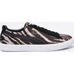 Puma - Buty Clyde Suits. Szare buty sportowe damskie Puma, z materiału. W wyprzedaży za 199,90 zł.
