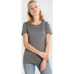 Topy sportowe damskie: Icebreaker SPHERE LOW CREWE Tshirt basic metal heather