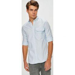 Calvin Klein Jeans - Koszula. Szare koszule męskie jeansowe Calvin Klein Jeans, l, button down, z długim rękawem. Za 299,90 zł.