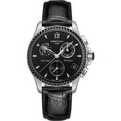 PROMOCJA ZEGAREK CERTINA DS First Lady Chrono Moon Phase C030.250.1. Czarne zegarki damskie CERTINA, ceramiczne. W wyprzedaży za 2719,21 zł.