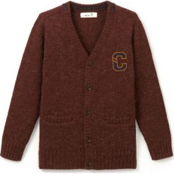 Odzież chłopięca: Ciepły sweter zapinany na guziki, 3-12 lat