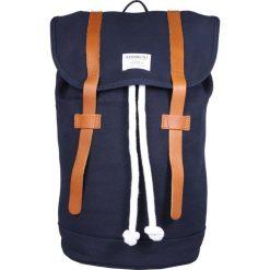 Plecaki męskie: Sandqvist STIG Plecak blue/cognac brown