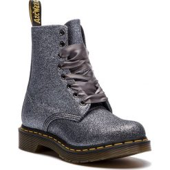 Buty zimowe damskie: Glany DR. MARTENS - 1460 Pascal Glitter 24320041 Pewter