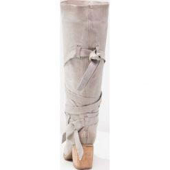 A.S.98 Kozaki grigio. Szare buty zimowe damskie A.S.98, z materiału. Za 1259,00 zł.