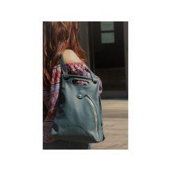 Skórzany plecak. Niebieskie plecaki damskie Pracownia6-9. Za 230,00 zł.