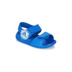 Sandały Dziecko  adidas  ALTASWIM I. Niebieskie sandały chłopięce Adidas. Za 79,20 zł.