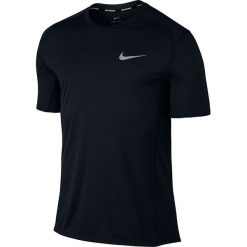 Koszulki do fitnessu męskie: koszulka do biegania męska NIKE DRI-FIT MILER TOP SHORT SLEEVE / 833591-010 – NIKE DRI-FIT MILER TOP SHORT SLEEVE