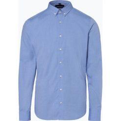 Mc Earl - Koszula męska, niebieski. Niebieskie koszule męskie na spinki Mc Earl, m, z bawełny, z klasycznym kołnierzykiem. Za 69,95 zł.