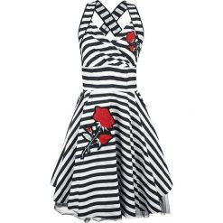 Vixxsin Marianne Dress Sukienka czarny/biały. Szare sukienki na komunię marki Sinsay, l, z dekoltem na plecach. Za 184,90 zł.
