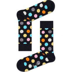 Happy Socks - Skarpetki Big Dot. Czarne skarpetki damskie Happy Socks, z bawełny. Za 39,90 zł.