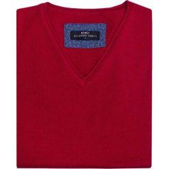Sweter EMILIANO SWT000054. Brązowe swetry klasyczne męskie Giacomo Conti, na jesień, m, z wełny. Za 149,00 zł.