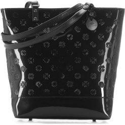 Torebka damska 34-4-087-1L. Czarne torebki klasyczne damskie marki Wittchen, z lakierowanej skóry, lakierowane. Za 899,00 zł.