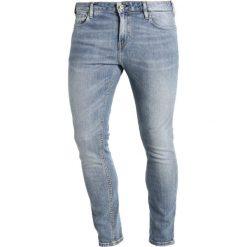 Scotch & Soda SKIM  Jeans Skinny Fit bronco blue. Niebieskie jeansy męskie Scotch & Soda, z bawełny. W wyprzedaży za 383,20 zł.