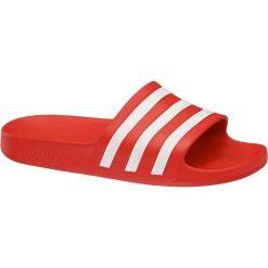 Klapki damskie adidas Adilette Aqua adidas czerwone. Czerwone klapki damskie Adidas, z materiału. Za 99,90 zł.