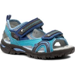 Sandały BARTEK - 16113-103 Niebieski. Niebieskie sandały męskie skórzane marki Bartek. W wyprzedaży za 169,00 zł.