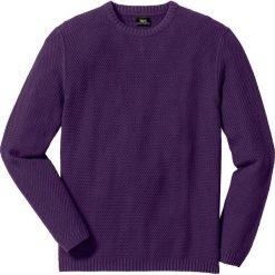Swetry męskie: Sweter Regular Fit bonprix jagodowy