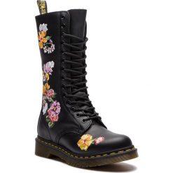 Glany DR. MARTENS - 1914 Vonda II 24062001  Black. Czarne buty zimowe damskie Dr. Martens, z materiału. W wyprzedaży za 629,00 zł.