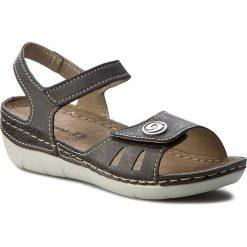 Rzymianki damskie: Sandały INBLU – CB127R15 Czarny