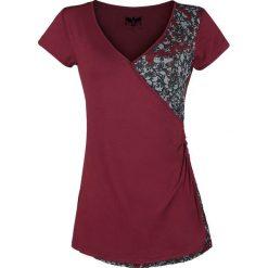 Black Premium by EMP Sweet Jane Koszulka damska bordowy. Czerwone t-shirty damskie Black Premium by EMP, xl, z asymetrycznym kołnierzem. Za 79,90 zł.