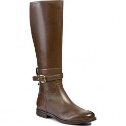 Kozaki GINO ROSSI - DKG186-F94-4300-4700-F Oliwka 81. Zielone buty zimowe damskie marki Gino Rossi, z materiału, na obcasie. W wyprzedaży za 359,00 zł.