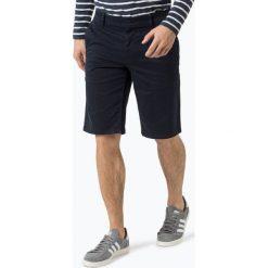 Bermudy męskie: BOSS Casual - Męskie spodenki – Schino-Regular-Shorts D, niebieski