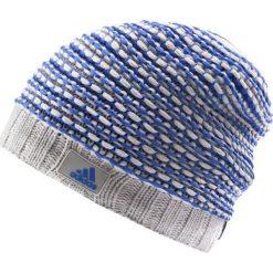Czapki męskie: Adidas Czapka męska Climaheat Croch B niebiesko-szara r. L