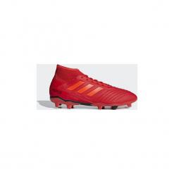 Buty do piłki nożnej adidas  Buty Predator 19.3 FG. Czerwone halówki męskie marki Adidas, do piłki nożnej. Za 379,00 zł.