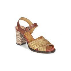 Sandały Chie Mihara  URIZA. Żółte sandały trekkingowe damskie Chie Mihara. Za 975,20 zł.