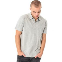 4f Koszulka męska polo H4L18-TSM015 jasnoszara r. 3XL. Szare koszulki sportowe męskie marki 4f, l. Za 49,99 zł.