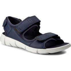 Sandały ECCO - Intrinsic Sandal 84201458960 True Navy/True Navy. Niebieskie sandały męskie skórzane ecco. Za 459,90 zł.