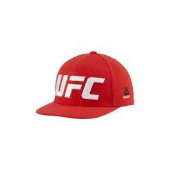 Czapki z daszkiem Reebok Sport  Czapka UFC Flat Peak. Czerwone czapki z daszkiem damskie Reebok Sport. Za 119,00 zł.