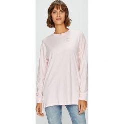 Converse - Bluza. Szare bluzy damskie marki Converse, l, z bawełny, bez kaptura. W wyprzedaży za 129,90 zł.