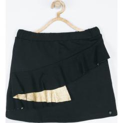 Spódnica. Czarne spódniczki dziewczęce z falbankami MAKE THE RULES, z bawełny. Za 65,90 zł.