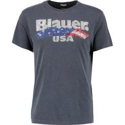 T-shirty męskie z nadrukiem: Blauer Tshirt z nadrukiem blu