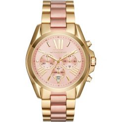 Zegarek MICHAEL KORS - Bradshaw MK6359 2T Gold/Rose/Rose Gold. Żółte zegarki damskie Michael Kors. W wyprzedaży za 899,00 zł.