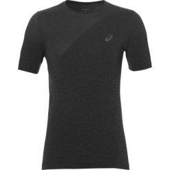Asics Koszulka męska Seamless Top czarna r. L (143605 0773). Szare t-shirty męskie marki Asics, z poliesteru. Za 170,79 zł.