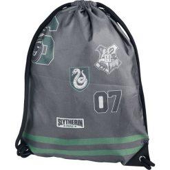 Harry Potter Slytherin Torba treningowa szary/zielony. Szare torebki klasyczne damskie Harry Potter, z nadrukiem, z nadrukiem. Za 62,90 zł.