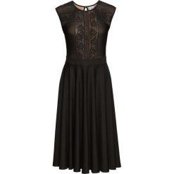 Sukienki: Sukienka z koronką bonprix czarny