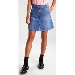 Spódniczki trapezowe: 2ndOne JESSIE Spódnica trapezowa blue waltz