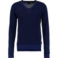 Armani Exchange Sweter navy/ultramarine. Czarne kardigany męskie marki Armani Exchange, l, z materiału, z kapturem. W wyprzedaży za 343,85 zł.
