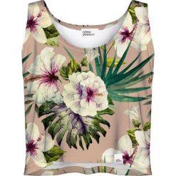Colour Pleasure Koszulka damska CP-035 161 różowo-zielona r. M/L. Fioletowe bluzki damskie marki Colour pleasure, uniwersalny. Za 64,14 zł.
