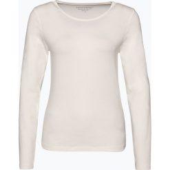 Franco Callegari - Damska koszulka z długim rękawem, beżowy. Zielone t-shirty damskie marki Franco Callegari, z napisami. Za 89,95 zł.