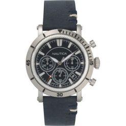 Nautica - Zegarek NAPFMT. Czarne zegarki męskie marki Fossil, szklane. Za 769,90 zł.